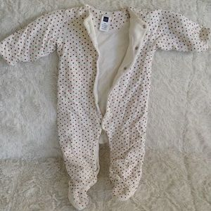 Gap baby cold weather onesie 6/12M